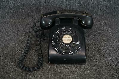 Bell Systems Western Electric Rotary Desktop Corded Phone Black