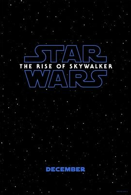 Star Wars The Rise of Skywalker - original DS movie poster - 27x40 D/S Advance