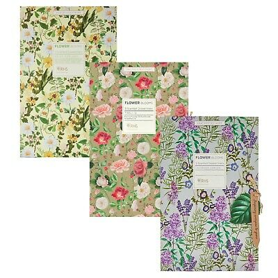 RHS Flower Blooms Scented 5 Pack Drawer Liners Heathcote & Ivory (1 Supplied)