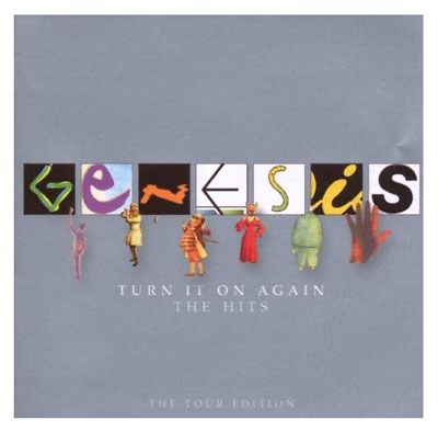 GENESIS Turn It On Again Greatest Hits - Very Best Of 2-CD Limited TOUR EDITION