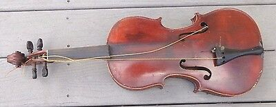 antique full size violin German Stradivarius copy model