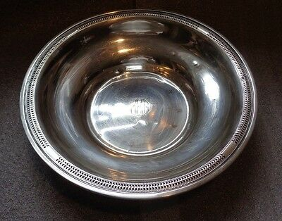 large antique La Pierre sterling silver bowl