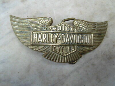 Harley-Davidson Collector Boucle De Ceinturon Usa Belt Buckle Vintage 1978