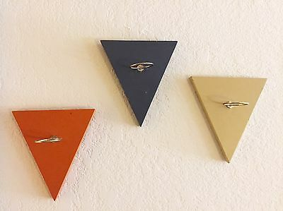 1960s Vintage Peter Pepper Products Mid Century Modern Wall Art Plaques Eames