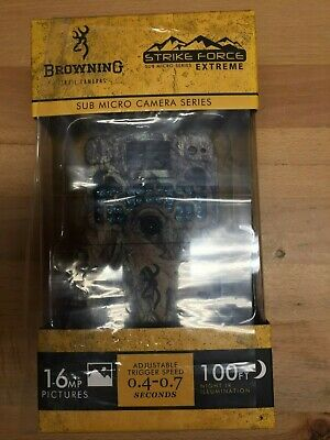 Browning Trail Cameras STRIKE FORCE EXTREME 16MP PICTURES HD VIDEO - #BTC-5HDX
