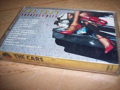 1985 The Cars Greatest Hits Cassette