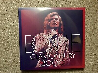 David Bowie Glastonbury 2000 3-Lp Vinyl Set