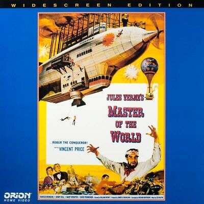 Master of the World - Vincent Price & early Charles Bronson (Laserdisc)