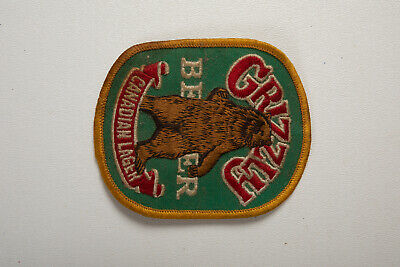 Grizzly Beer Canadian Lager (B4B) Patch