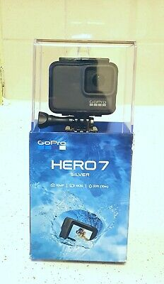 GoPro Hero 7 silver - 4K - 10MP - NEW - Open box but never used.FREE SHIPPING