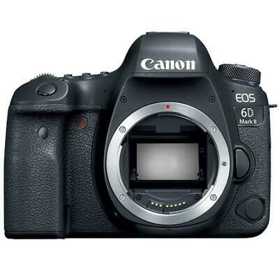 Canon EOS 6D Mark II 26.2MP 60 fps Full HD Video Digital SLR Camera (Body Only)