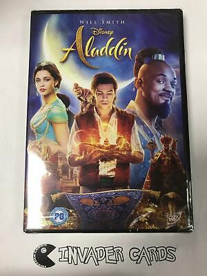 Aladdin Live Action Will Smith 2019 Region 2 DVD Brand New Boxed Sealed