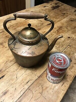 Vintage Copper Tea Pot Douro B & M Hand Crafted Kettle Made in Portugal