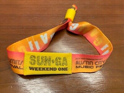 Austin City Limits ACL Weekend One Sunday Only General Admission (October 6)
