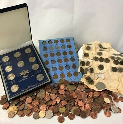 Huge Junk Lot Approx. 3.8 Lbs Coin Collection!!