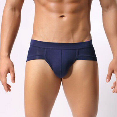 Mens Briefs Breathable Boxer Trunks Bulge Pouch Knickers Underwear Underpants