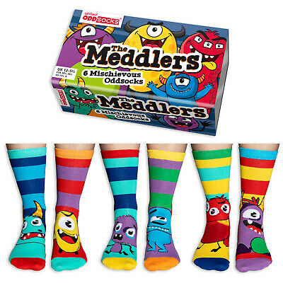 United Oddsocks Unicorn Daze Odd Socks Unicorn Socks For Girls Uk Size 12 - 5.5