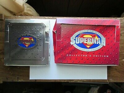 Superman Platinum Series Collector's Edition And Premium Edition 1994 (See Pics)