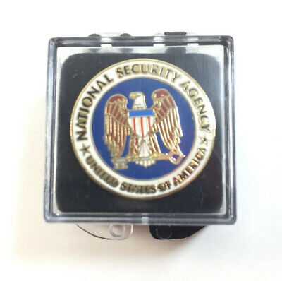NSA Identification Pin National Security Agency Central Security Service