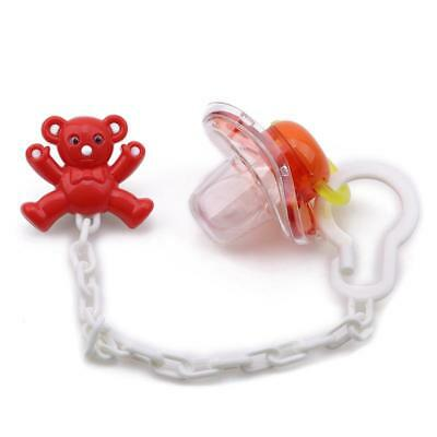 Baby Toddler Dummy Pacifier Soother Nipple Clip Holder Strap Anti-lost JA