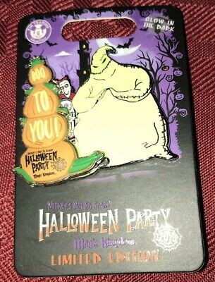 Disney Parks 2019 Mickey's Not So Scary Halloween Party Oogie Boogie LE Pin