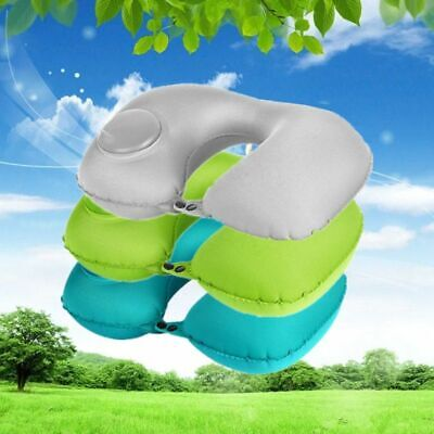 Travel Portable Pillow Press Air U Shaped Neck Pillows Body Aircraft Inflatable