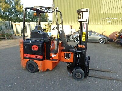 Bendi B40 2002 Electric Forklift Articulated Container Spec Side Shift 893 Hrs