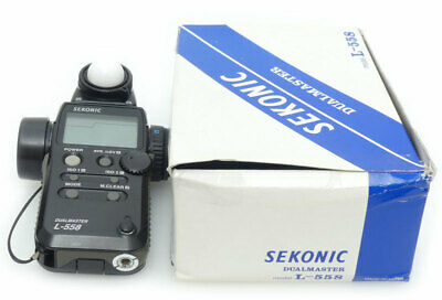 Sekonic L-558 DualMaster Light Meter. Box