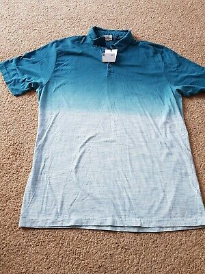 New  Next Premium Mens Polo Neck T Shirt Top Size large