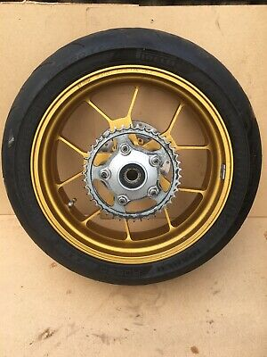 APRILIA RSV FACTORY FORGED REAR WHEEL GOLD Rear Sprocket
