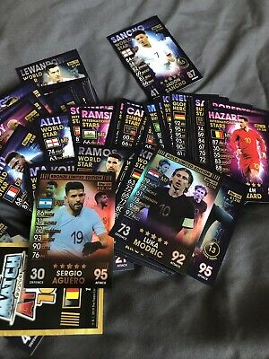 TOPPS MATCH ATTAX 101 CARDS - BUNDLE of 100+ ALL DIFFERENT CARDS Including LE