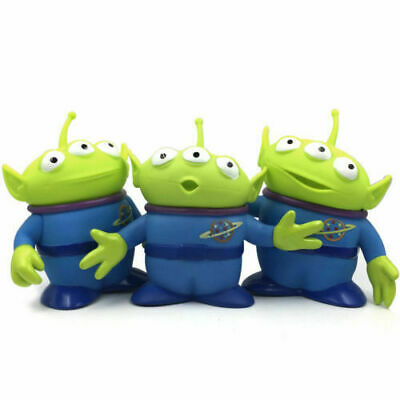 3pcs Disney Toy Story Alien Plastic Figures Toy Xmas Gifts Collectible Toys 6in