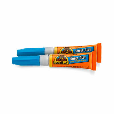 GORILLA GLUE 4044101 SUPER GLUE TOUGH FAST SETTING 20 x 3G TUBES