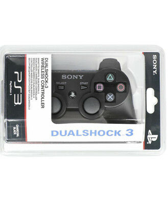 Brand Sony PlayStation 3 Dual Shock 3 Wireless Controller Black- UK stock