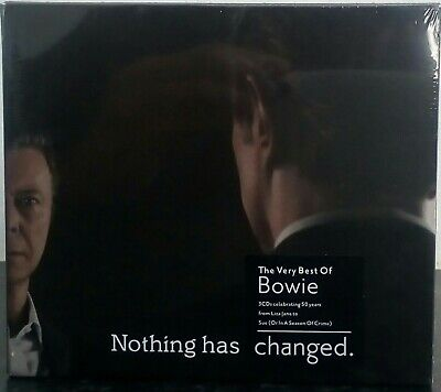 David Bowie  - Nothing Has Changed (The best of David Bowie) x3CD - brand new