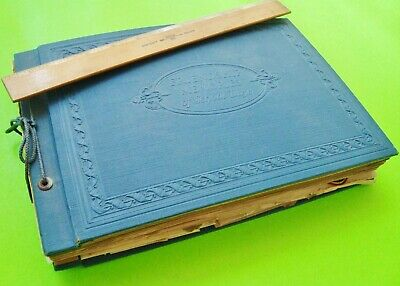 1928 DUNKIRK INDIANA SCHOOL & PERSONAL SCRAPBOOK / DIARY 55 Photos 100s Ephemera