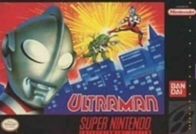 Ultraman - Nintendo SNES Game Authentic