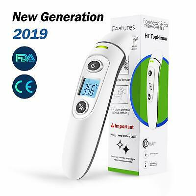 Thermometer Forehead and Ear Thermometer, High Precision Digital Medical