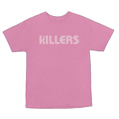 The Killers Logo Women's T-shirt Pink Official Licensed Music