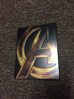 Avengers Steelbook Collection Avengers, Age Of Ultron And Infinity War Blu-ray