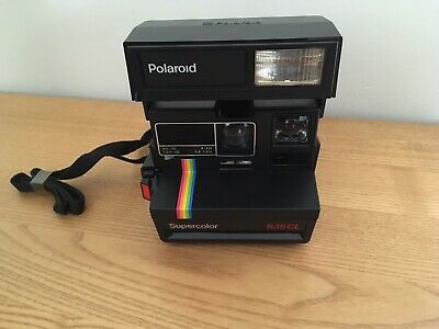 Polaroid Supercolor 635CL instant camera  Boxed & With Instructions
