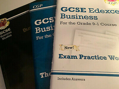 CGP GCSE EDEXCEL business Revision guide and workbook