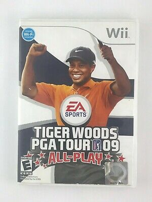 Tiger Woods PGA Tour 09: All-Play - Nintendo Wii Game - Complete & Tested