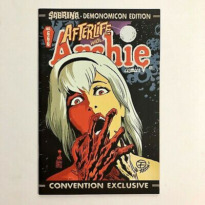 Afterlife with Archie 666 1st Chilling Adventures of Sabrina SIGNED Netflix SDCC