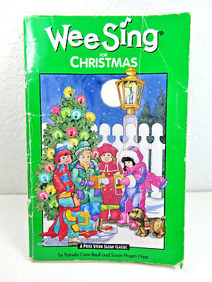 1984 Childrens Songbook Wee Sing For Christmas Illustrated Price Stearn Sloan