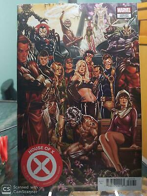House of X #1 - Brooks Connecting Variant (2019) 9.6 NM Hickman/Larraz