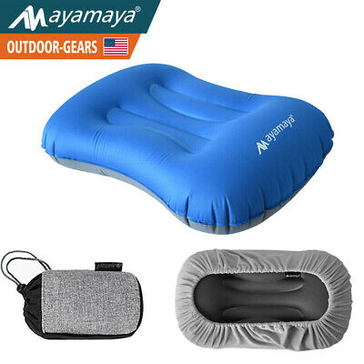 Ultralight Inflatable Camping Pillow Travel Air Cushion for Hiking Backpacking