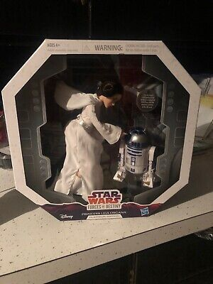 Star Wars Princess Leia Organa a new hope ANH  Forces of Destiny Free Baby Yoda