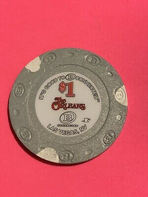 The Orleans Casino Las Vegas $1 Poker Chip