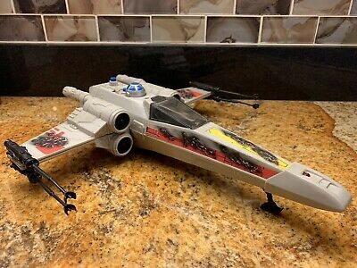 Star Wars - Working Electronics - Vintage 1982 Kenner X-Wing Fighter